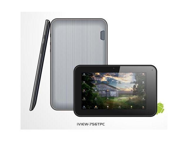 "iView iView 756TPC 7"" Capacitive Multi-Touch Screen Tablet PC"