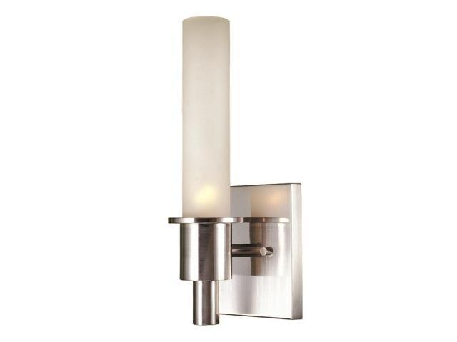 World Imports 7821-02 Luray Clct Single Lgt Wall Sconce, Satin Nickel