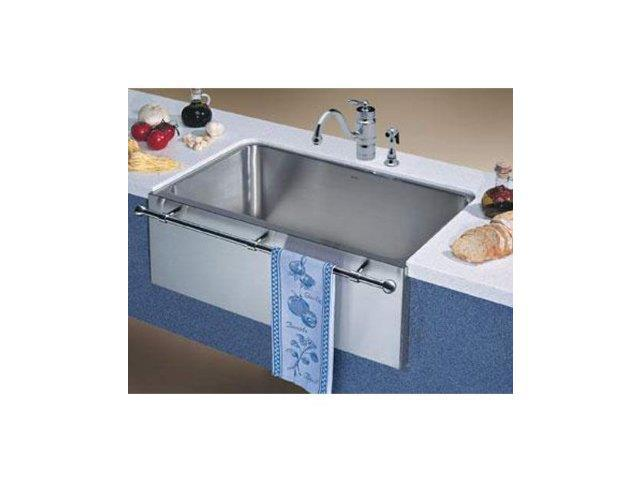 Blanco magnum 440294 large single bowl kitchen sink with for Blancoamerica com kitchen sinks