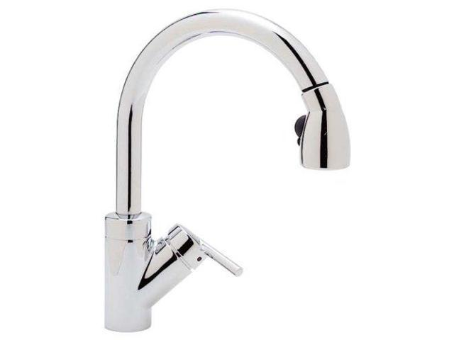 Blanco 440618 Rados Kitchen Faucet with Pull-Down Spray, Chrome-Newegg ...