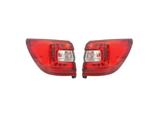 NEW PAIR OF OUTER TAIL LIGHTS FITS SUBARU OUTBACK WAGON 2015-2017 84912AL05A