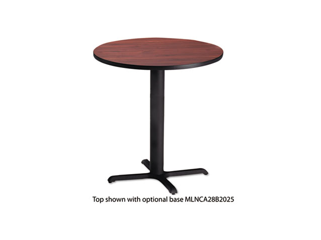 "Bistro Series 36"" Round Laminate Table Top, Regal Mahogany - CA36RTRMH"