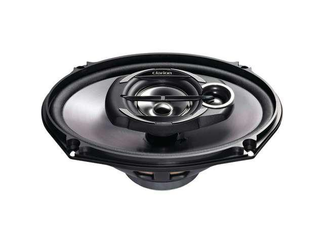 "Clarion SRG6932R 6"" x 9"" 400 Watts Peak Power Coaxial Car Speakers"