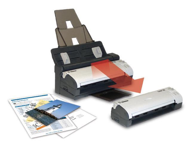 DOCKING STATION ADDS AUTOMATIC DOCUMENT FEEDER (ADF) WITH 20 PAGE CAPACITY TO ST