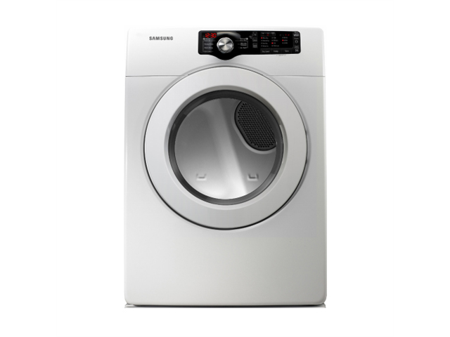 "Samsung DV361EWBEWR R 27"" Front-Load Electric Dryer with 7.3 cu. ft. Capacity"