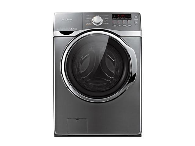 """27"""" Front-Load Washer with 4.0 cu. ft. Capacity, 15 Wash Cycles, 9 Options, 5 Temperature Settings, PowerFoam, Steam Washing ..."""