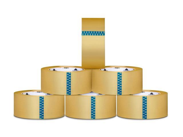 3 x 110 yards Clear Hotmelt 1.6 mil Carton Box Sealing Packing Tape 1080 Rolls
