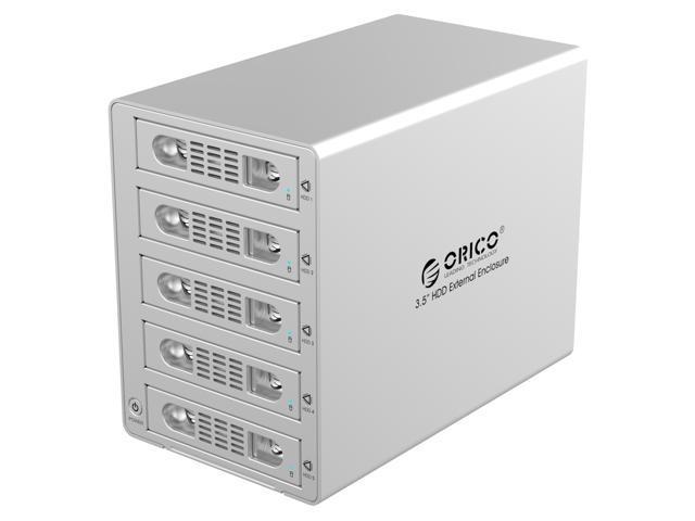 ORICO 3559SUSJ3-SV  5 BAY USB 3.0 & E-SATA 3.5