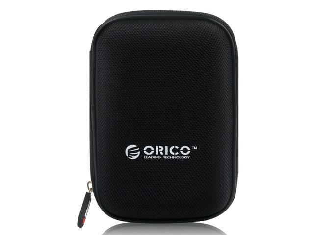 ORICO 2.5 inch Portable External Hard Drive Protection Bag Dual Buffer Layer HDD Protector Case - Black(PHD-25)