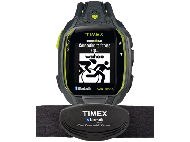 Timex Ironman Run X50+ With Heart Rate Black / Gre