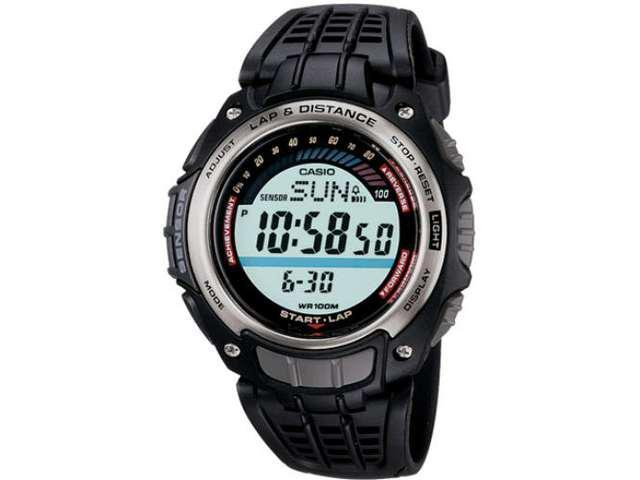 Casio Mens Multi-Function Digital Athlete's Tracking Watch - Black - SGW200-1V