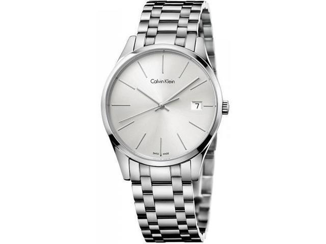 Men's Calvin Klein Date Display Steel Time Watch K4N21146