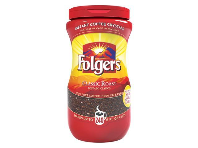 06922 Classic Roast Instant Coffee Instant, Caffeinated - Classic - 16 oz. - 1 Each