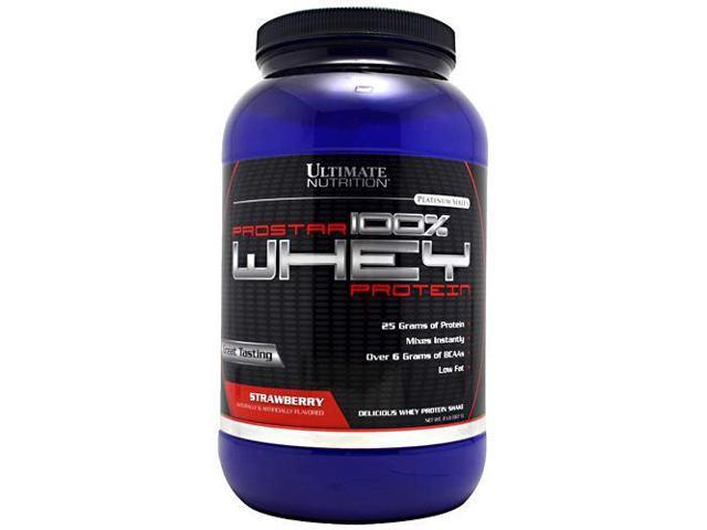 Prostar Whey-Strawberry - Ultimate Nutrition - 2 lb - Powder
