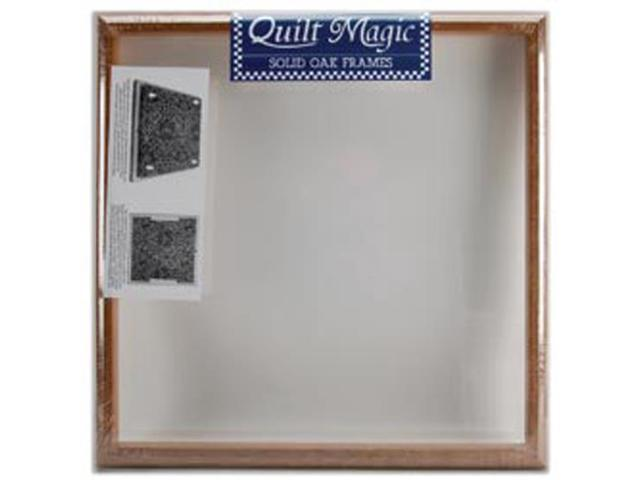 Quilt Magic Oak Frame-15-1/2