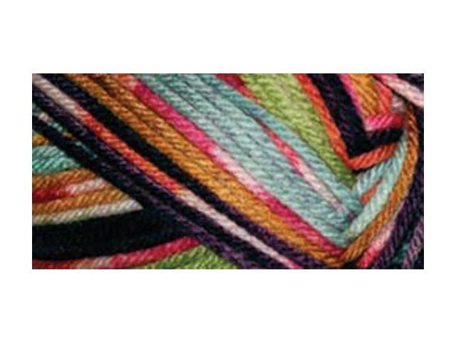 Everyday Anti-Pilling Soft Worsted Prints Yarn-Northern Lights