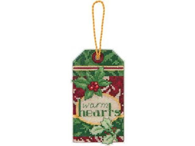 Susan Winget Warm Hearts Ornament Counted Cross Stitch Kit-2-3/4