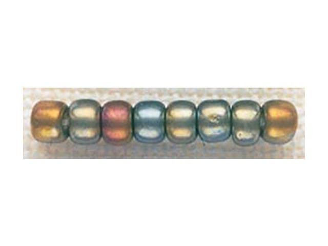 Mill Hill Glass Beads Size 6/0 4mm 5.2 Grams/Pkg-Abalone