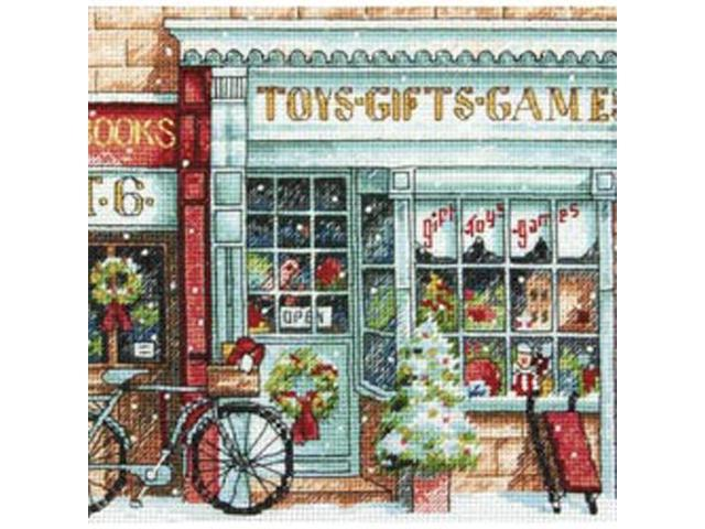 Gold Collection Petite Toy Shoppe Counted Cross Stitch Kit-6