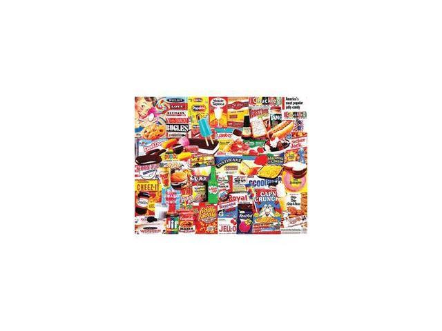 Things I Ate As a Kid 1000 Piece Puzzle by White Mountain Puzzles