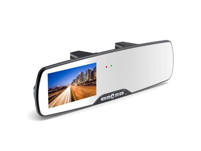 "Bravo View SL-D3008H – 2.7"" LCD Rear-view Mirror with 1080P DVR Recording System"