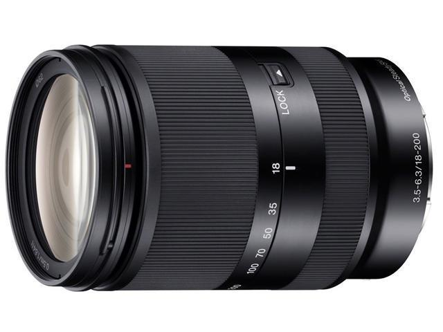 SONY SEL18200LE 18-200mm f/3.5-6.3 Zoom Lens Black