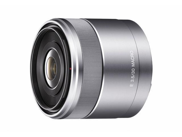 SONY SEL30M35 Compact ILC Lenses 30mm f/3.5 Macro Lens Silver