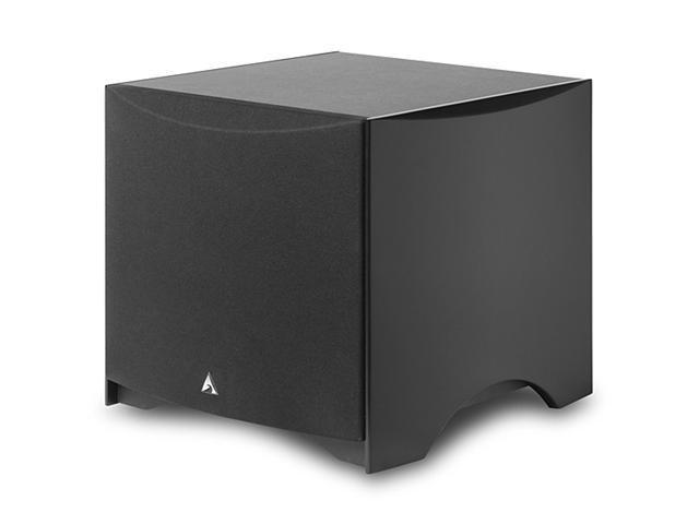 "Atlantic Technology 224SB-BLK Powered Box 10"" Subwoofer 180 Watt (Satin Black)"