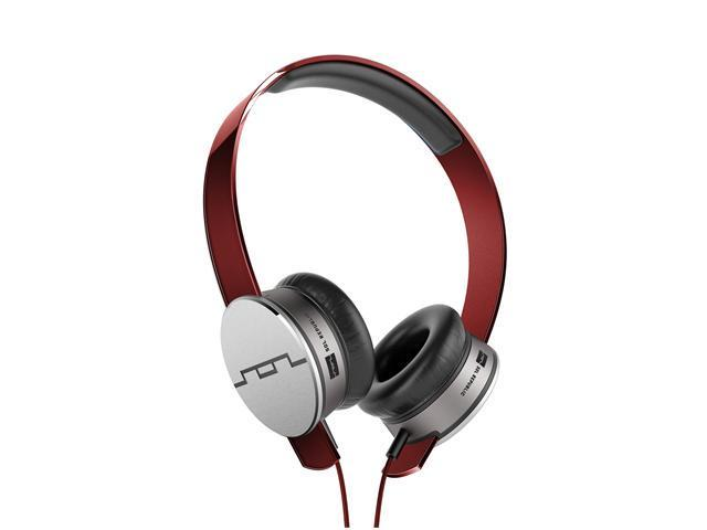 Sol Republic Tracks HD On-Ear Headphone (Red)