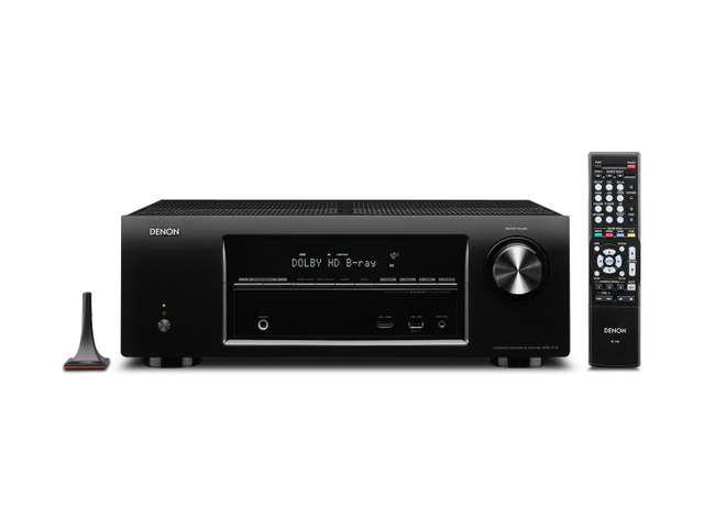 Denon AVR-1713 5.1 Channel Networking Home Theater Receiver with 3D Pass Through/ AirPlay/ Second Zone Audio Line Outputs