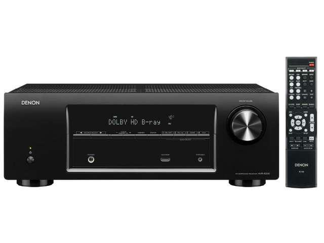 Denon AVR-E200 5.1 Channel A/V Receiver with 3D Video Pass-Through