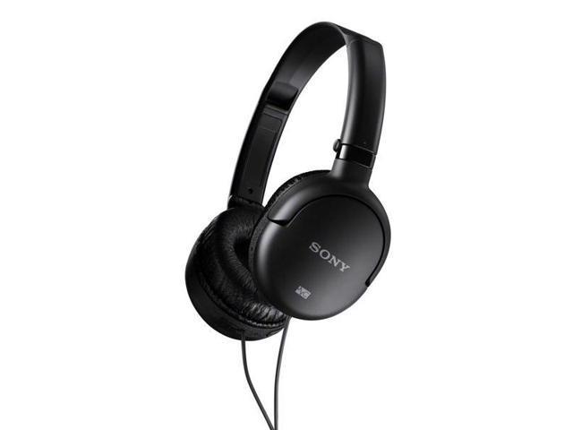 Sony MDR-NC8/BLK Noise Canceling On-Ear Headphones (Black)
