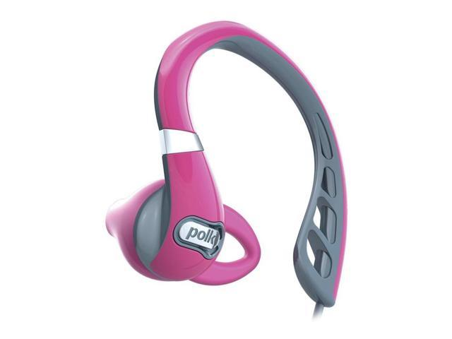 Polk Audio UltraFit 500 Mid-Flange Earphones (Pink/Gray)