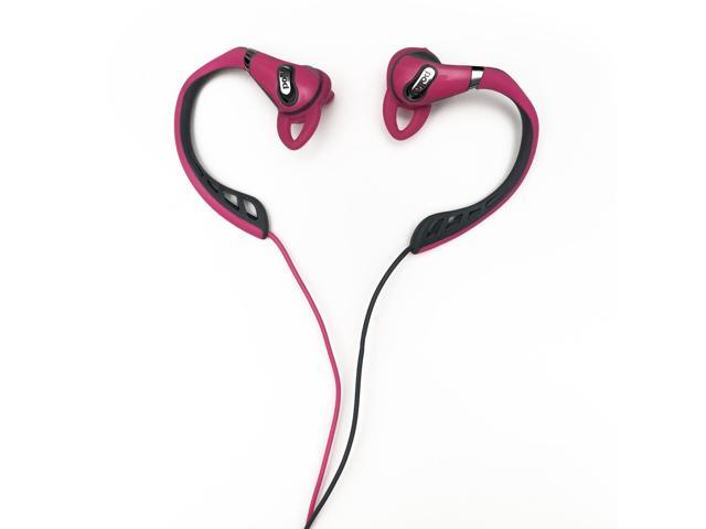 Polk Audio UltraFit 500 Mid-Flange Earphones (Pink/Gray)