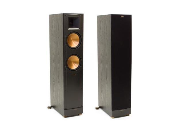 klipsch rf 82 ii reference series floorstanding loudspeaker pair black. Black Bedroom Furniture Sets. Home Design Ideas