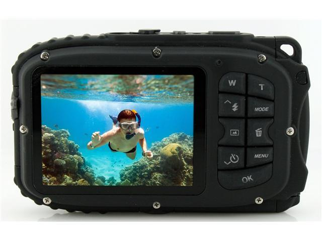 Coleman Xtreme C5WP 12 MP 33ft Waterproof Digital Camera (Black ...