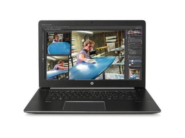 HP Laptop ZBook Studio G3 (T6E15UT#ABA) Intel Core i7 6820HQ (2.70 GHz) 8 GB Memory 256 GB Z Turbo Drive PCIe SSD NVIDIA Quadro M1000M 15.6