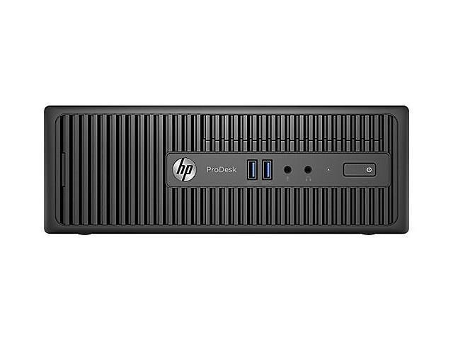 HP Desktop PC ProDesk 400 G3 (Y1Y73UT#ABA) Intel Core i5 6th Gen 6500 (3.20 GHz) 8 GB DDR4 256 GB SSD Intel HD Graphics 530 Windows 7 Professional 64-Bit (Windows 10 Pro downgrade)