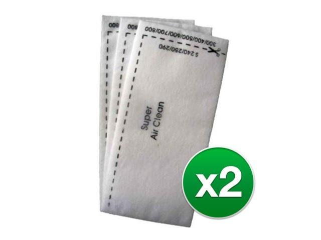 Replacement Vacuum Filter for Miele S224 Vacuum Model (2pk)