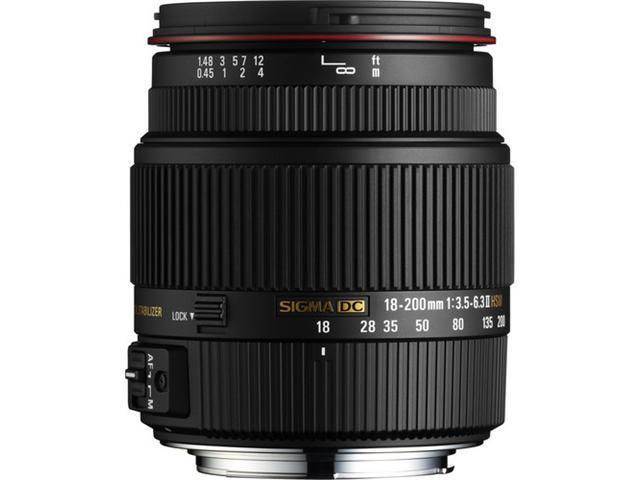 SIGMA 18-200mm F3.5-6.3 DC Lens For Pentax