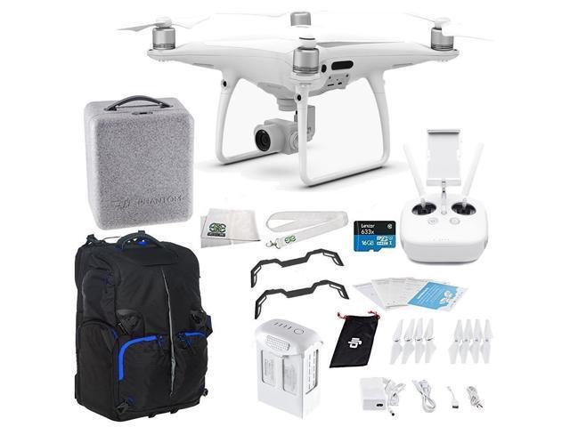 DJI Phantom 4 PRO Quadcopter Starters Backpack Bundle