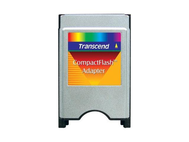 Transcend PCMCIA ATA Adapter. Convert CompactFlash CF Card to PCMCIA slot. Model TS0MCF2PC