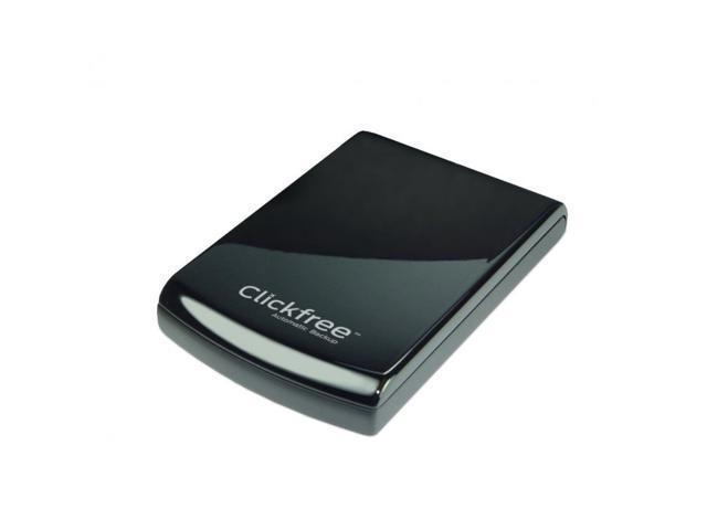 Clickfree 1TB C6 USB 3.0 Portable Hard Drive Total Automatic Computer Backup Mac & PC