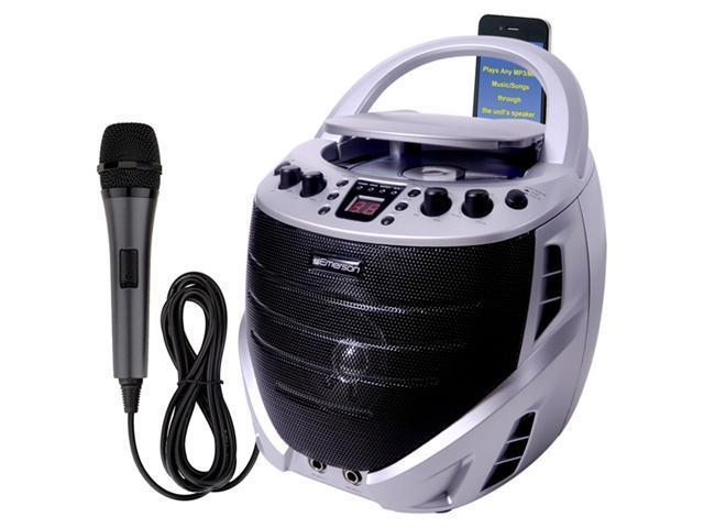 Emerson GQ365 Portable CDG Karaoke System