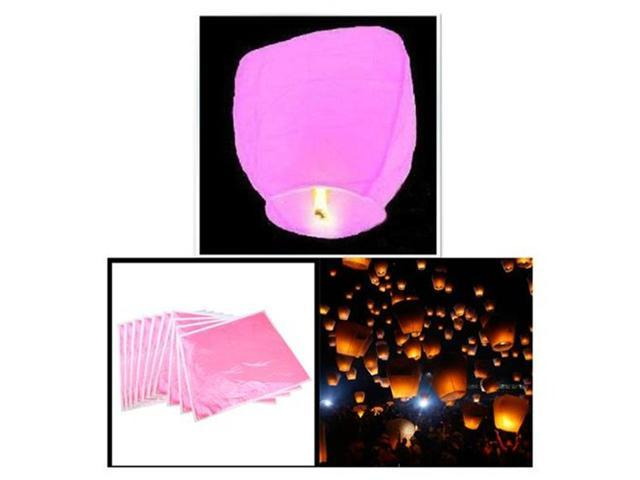 10 Fire Sky Chinese Paper Lanterns Kongming Lantern