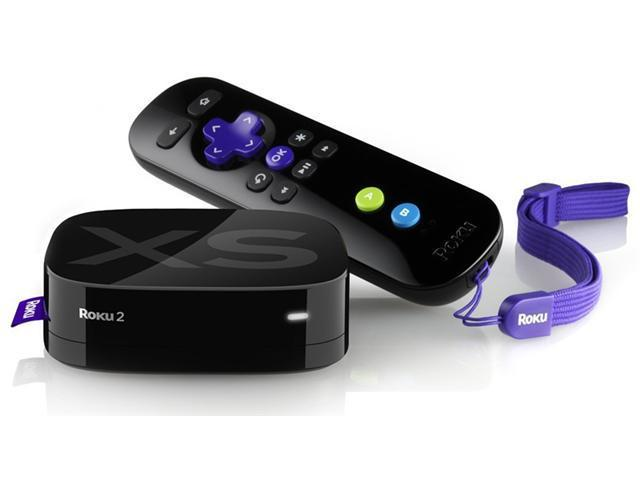 Roku 2 XS 1080p HD Streaming Media Player W/ Motion Sensor Control & Angry Birds - 3100X-B