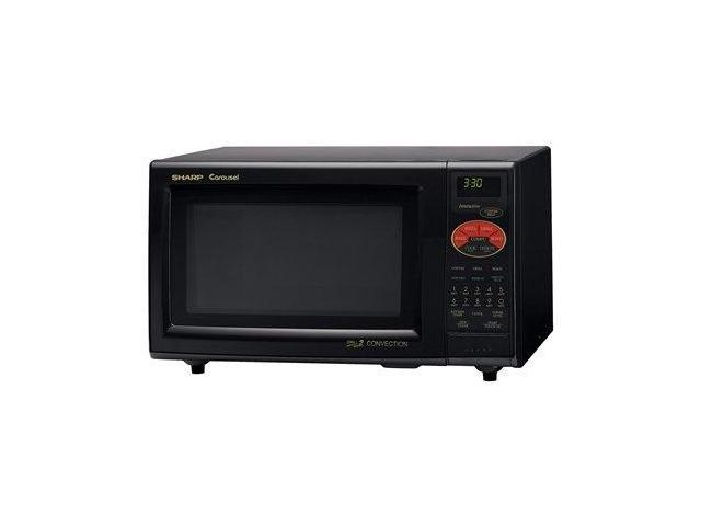 sharp countertop convection microwave oven 900w black. Black Bedroom Furniture Sets. Home Design Ideas