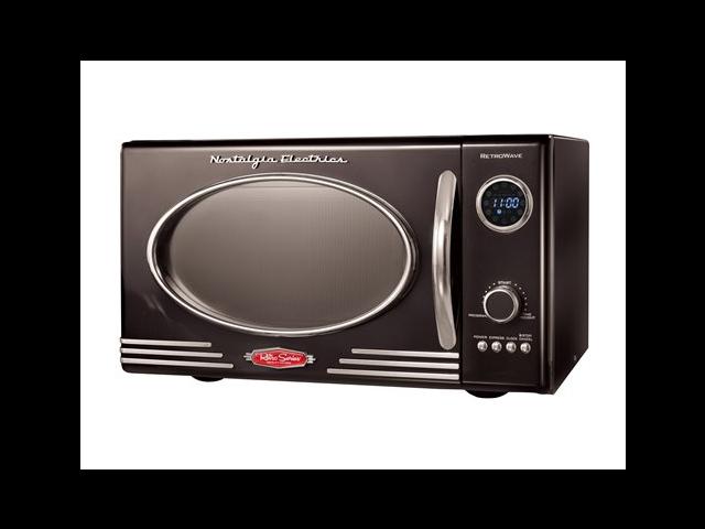 Nostalgia Electrics 9-cu. ft. Retro Series™ Microwave Oven, Black