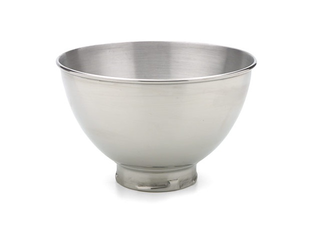 KitchenAid KB3SS Polished Stainless Steel Bowl 3Qt. fits Tilt-Head Mixer Silver