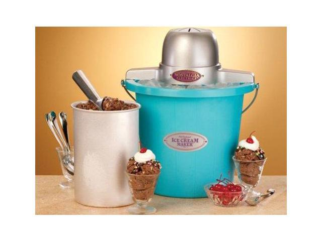 Nostalgia Electrics 4-qt. Ice Cream Bucket, Blue